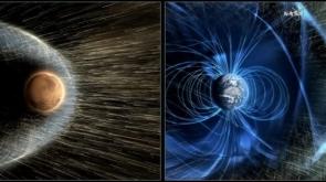Marte campo Magnéticos