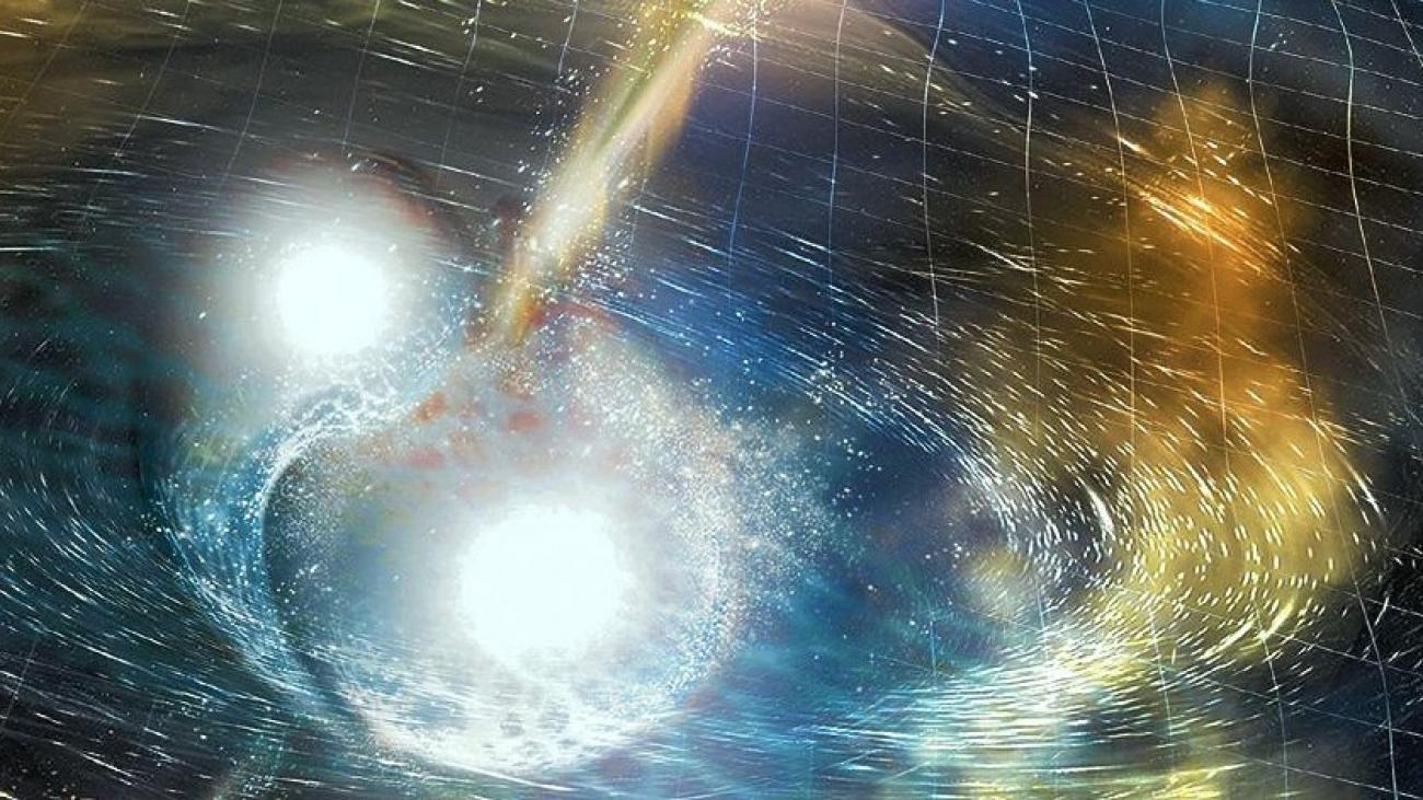 Foto: Ilustración: Laser Interferometer Gravitational-Wave Observatory
